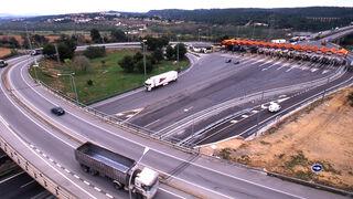 El ahorro anual por camión será de 1.900 euros tras el fin de los peajes en AP-7 y AP-2