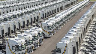 DAF y Primafrio sellan un acuerdo para el suministro de 1.300 unidades del XF 480