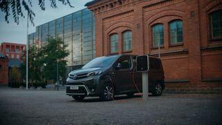 La versión eléctrica del Toyota Proace Van, ya disponible en España