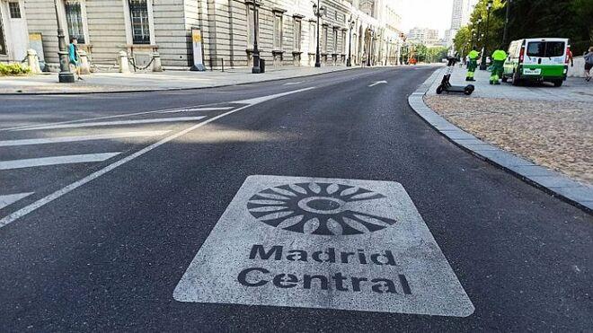 Moratoria en Madrid para permitir acceder a Madrid Central a algunos vehículos sin etiqueta