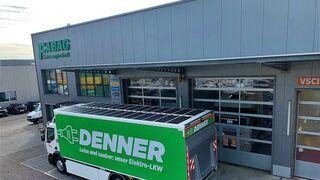Renault Trucks D Wide Z.E. equipado con paneles fotovoltaicos