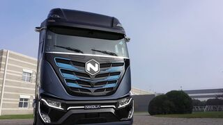 Nikola TRE,  el camión de hidrógeno  que fabricará Iveco