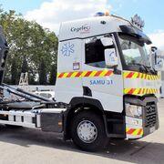 Un Renault Trucks T reforzará la vacunación Covid-19 en Navarra