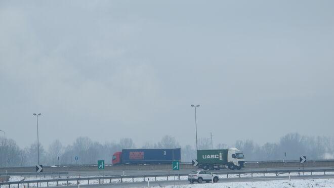 Efectos de la nevada por la borrasca Filomena
