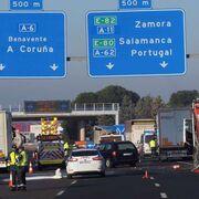 El atropello mortal de tres transportistas reabre el debate sobre el riesgo del auxilio en carretera