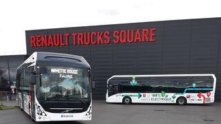Las lanzaderas entre instalaciones de Renault Trucks pasan a ser 100% eléctricas