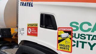 El Gobierno francés revisará la obligación de señalizar los ángulos muertos de los camiones