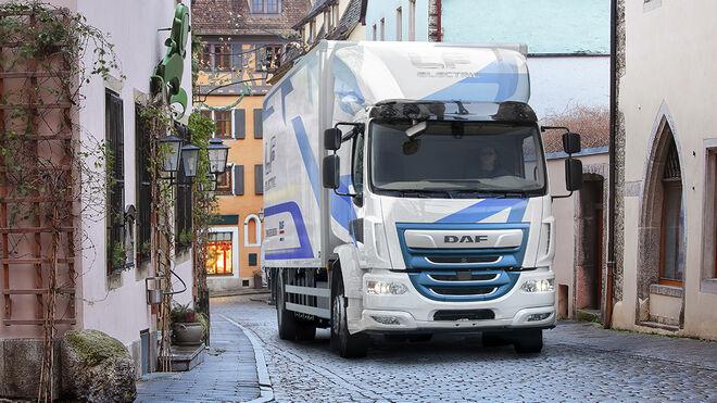 DAF presenta un camión eléctrico para la última milla