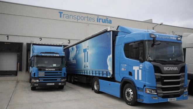Transportes Iruña consigue reducir un 8% el consumo de combustible con Scania Driver Support