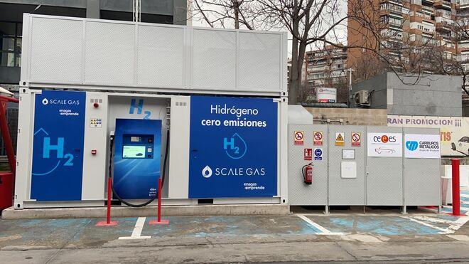 España inaugura su primera estación de hidrógeno para vehículos de pila de combustible de gran autonomía