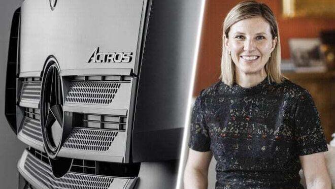 Karin Rådström, máxima responsable de Mercedes-Benz Trucks