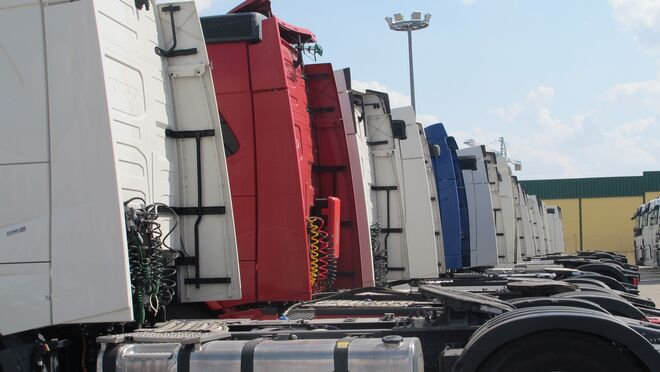 Las matriculaciones de camiones bajaron un 12,8% en enero