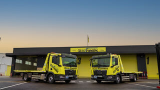 Grúas Fuentes recibe los primeros TGL de la nueva generación de camiones MAN