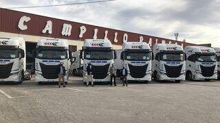 Iveco entrega 25 S-WAY de GNL a Campillo Palmera