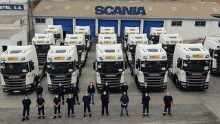 Scania entrega 30 R 450 al grupo Exit