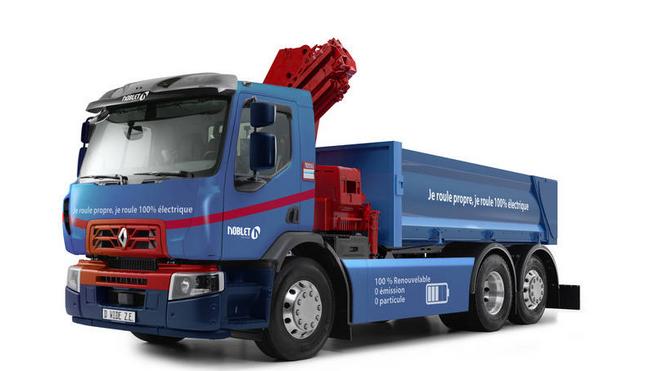 Renault Trucks entrega el primer camión de aproximación 100% eléctrico
