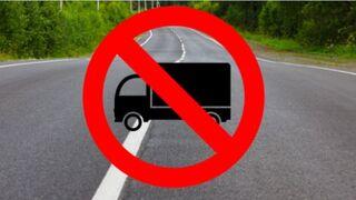 Publicadas las restricciones anuales para camiones en Cataluña