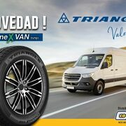 Tiresur amplía su gama de cubiertas para furgoneta con el nuevo Triangle Connex TV701