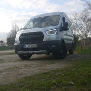 Probamos la Ford Transit Trail Van AWD 170 cv: Virtuosismo inteligente 4x4