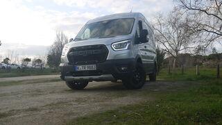 Ford Transit Trail Van AWD 170 cv: Virtuosismo inteligente 4x4