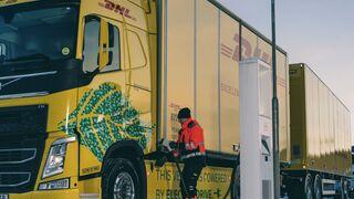 Volvo prueba con DHL su primer camión eléctrico de larga distancia