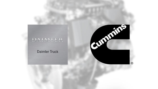 Cummins fabricará los motores de media cilindrada para Daimler Truck