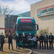 Iveco entrega a Gruber Logistics 100 S-WAY de GNL