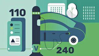 Camiones y furgonetas eléctricas serán etiquetados para facilitar su recarga