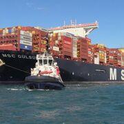El transporte marítimo de corta distancia cayó un 10% en 2020