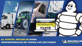 Michelin lanza su nueva web para los profesionales de cualquier actividad industrial