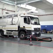 Banco de pruebas para la calibración de vehículos pesados