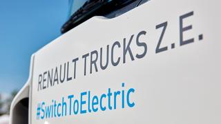 Renault Trucks lanzará en 2023 un camión eléctrico de larga distancia