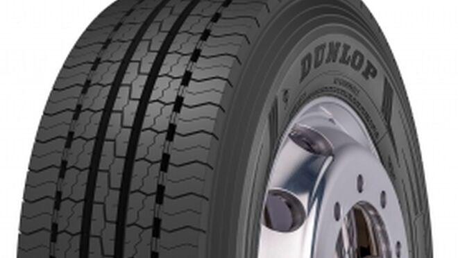 Dunlop lanza el neumático SP346+ para el eje de dirección