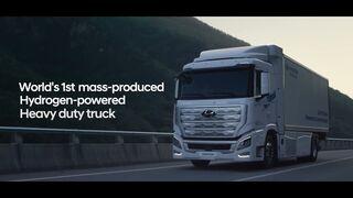 Así es el Xcient, el camión de hidrógeno de Hyundai