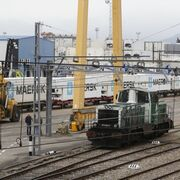 El motor vigués resucita el tren de mercancías en Galicia