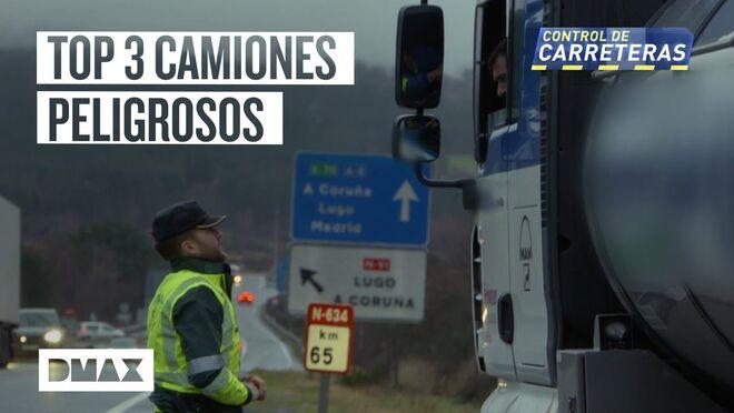 Estas son algunas de las infracciones más comunes entre camiones