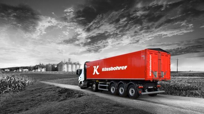 Kässbohrer lanza su semirremolque para el transporte agrícola