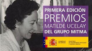 Mitma publica la convocatoria de los Premios Matilde Ucelay