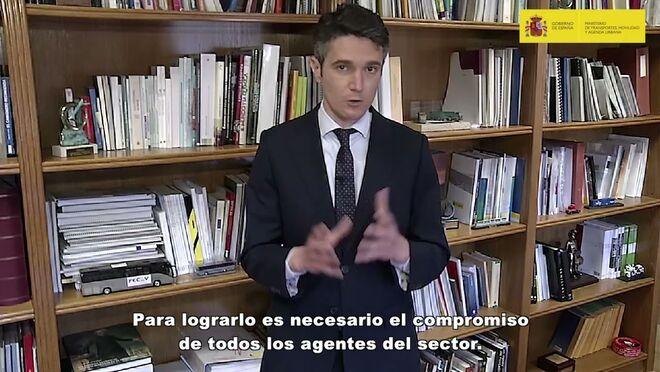 Jaime Moreno (Mitma) llama a la digitalización del transporte de mercancías por carretera