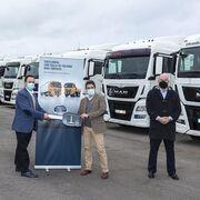 Alquiler Sostenible incorpora 40 tractoras usadas de MAN