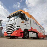 Iveco suministrará la flota de vehículos al equipo Repsol Honda de MotoGP
