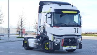 Al volante del Renault Trucks T 01 Racing: preparado para la carrera del consumo