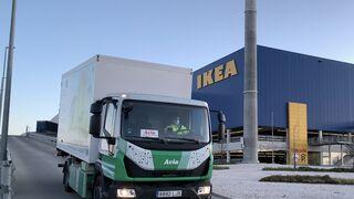 FM Logistic ya prueba el primer camión eléctrico fabricado en España