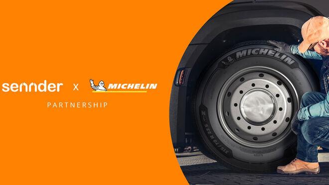 Michelin alcanza un acuerdo de suministro con sennder