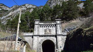 El Mitma da el primer paso para reabrir el túnel ferroviario de Somport