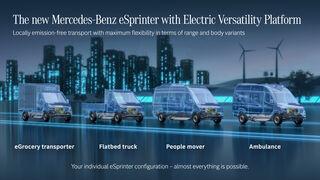 Carrozados específicos para las Mercedes-Benz eSprinter y eVito