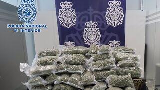 La Policía interviene 70 kilos de marihuana en un camión cargado de patatas y cebollas