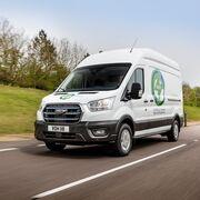 Ford anuncia las primeras pruebas con clientes europeos de la nueva E-Transit