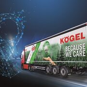 Kögel ofrece la telemática de serie en sus semirremolques
