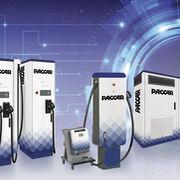 DAF presenta estaciones de carga para sus camiones eléctricos